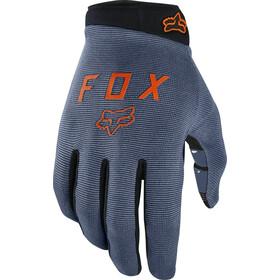 Fox Ranger Cykelhandsker Unge, blue steel